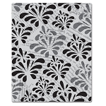 Hero Arts Cling Stamp - (for Basic Grey)-Out of Print-Print & Flower Pattern