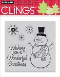 Hero Arts-Cling Rubber Stamp-Wonderful Christmas :)