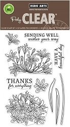 Hero Arts - Clear Stamp - Beautiful Day Agapanthus
