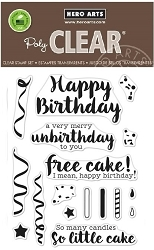 Hero Arts - Clear Stamp - Hero Greetings Cheeky Birthday