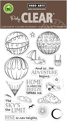 Hero Arts - Clear Stamp - Sky's the Limit Balloons
