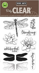 Hero Arts - Clear Stamp - Color Layering Dragonfly