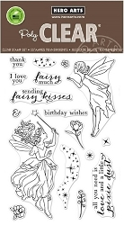 Hero Arts - Clear Stamp - Fairy Kisses