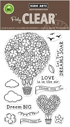 Hero Arts - Clear Stamp - Hot Air Blooms