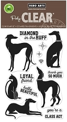 Hero Arts - Clear Stamp - Diamond In The Ruff