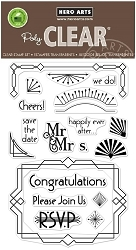 Hero Arts - Clear Stamp - Deco Celebrations
