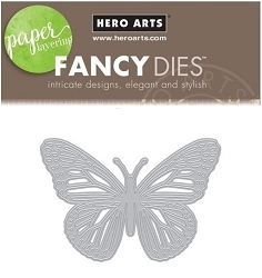 Hero Arts - Fancy Die - Monarch Butterfly Fancy Die