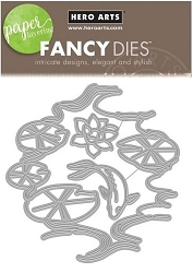 Hero Arts - Fancy Die - Lily Pond Fancy Die