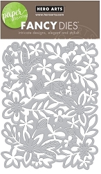 Hero Arts - Fancy Die - Flower Garden Fancy Die