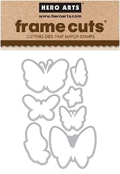 Hero Arts - Frame Cuts Die - New Day Butterflies