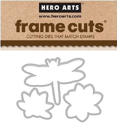 Hero Arts - Frame Cuts Die - Color Layering Dragonfly