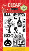 Hero Arts - Clear Stamp - Spooky Halloween