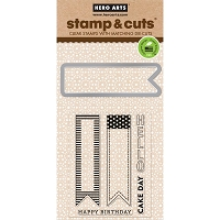 Hero Arts - Stamp & Cut - Cake Day