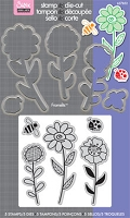 Dies + Stamps sets by Sizzix