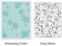 Embossing Folder + Stamp sets by Sizzix
