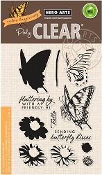 Hero Arts - Clear Stamp - Color Layering Swallowtail Butterfly