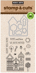 Hero Arts - Stamp & Cut - House Stamp & Cut