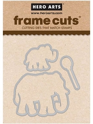 Hero Arts - Frame Cuts - Color Layering Elephant