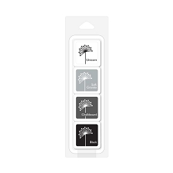 Hero Arts - Ink cube - Four Pack - Shades of Grey