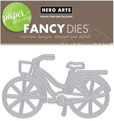 Hero Arts - Fancy Die - Bicycle with Basket Fancy Die
