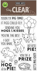 Hero Arts - Clear Stamp - Country Fair Pig