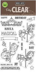 Hero Arts - Clear Stamp - Ornate Carousel
