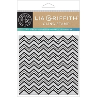 Hero Arts - Cling Stamp - Zig Zag Bold Prints by Lia Griffith