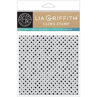 Hero Arts - Cling Stamp - Polka Dot Bold Prints by Lia Griffith