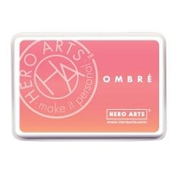 Hero Arts - Ombre Dye Ink Pad - Light to Dark Peach Ombre