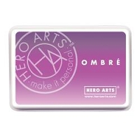 Hero Arts - Ombre Dye Ink Pad - Lilac to Grape Purple Ombre