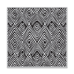 Hero Arts - Cling Rubber Stamp - Tribal Stripes Bold Prints