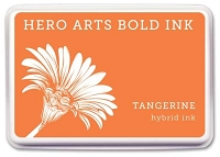 Hero Arts - Hybrid Ink Pad - Tangerine :)