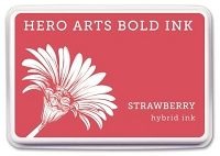 Hero Arts - Hybrid Ink Pad - Strawberry :)