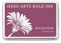 Hero Arts - Hybrid Ink Pad - Mulled Wine :)