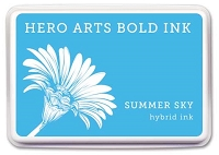Hero Arts - Hybrid Ink Pad - Summer Sky :)