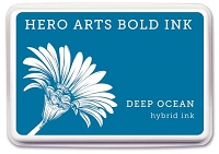 Hero Arts - Hybrid Ink Pad - Deep Ocean :)