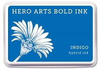 Hero Arts - Hybrid Ink Pad - Indigo :)