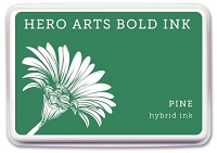 Hero Arts - Hybrid Ink Pad - Pine :)