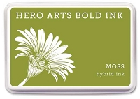 Hero Arts - Hybrid Ink Pad - Moss :)