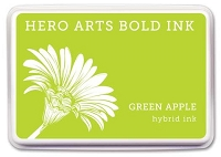 Hero Arts - Hybrid Ink Pad - Green Apple :)