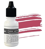 Hero Arts - Hybrid Ink Reinker - Crimson :)