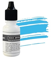 Hero Arts - Hybrid Ink Reinker - Summer Sky :)