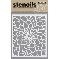 Hero Arts - Stencil - Large Flower