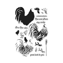Hero Arts - Clear Stamp - Color Layering Rooster