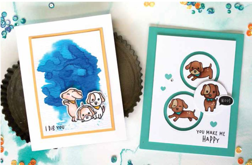 Hero Arts Woof Photopolymer Stamps