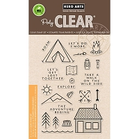 Hero Arts - Clear Stamp - The Adventure Begins