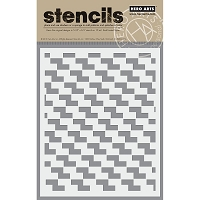 Hero Arts - Stencil - Checkerboard
