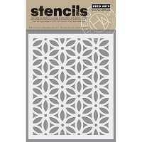 Hero Arts - Stencil - Floral Pattern