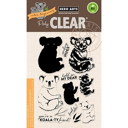 Hero Arts - Clear Stamp - Color Layering Koala