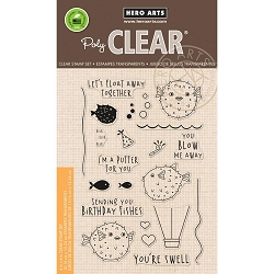 Hero Arts - Clear Stamp - I'm A Puffer For You